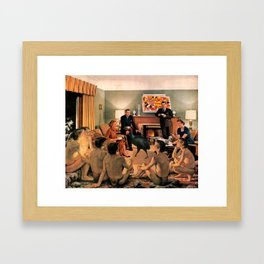 The First Thanksgiving Framed Art Print