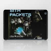 sith iPad Cases featuring Darkside Undergound Sith Packets by Ant Atomic