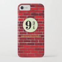 hogwarts iPhone & iPod Cases featuring Hogwarts Express by kattie flynn
