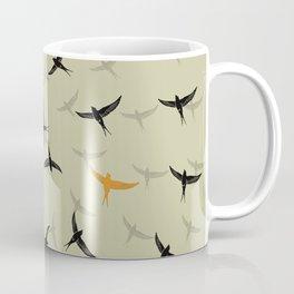 spiral birds Coffee Mug