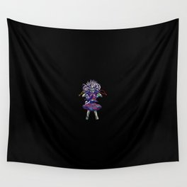 Scary Doll Wall Tapestry
