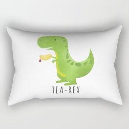 Tea-Rex Rectangular Pillow