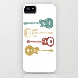Retro Guitar iPhone Case