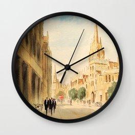 Oxford High Street Wall Clock