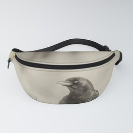 Betsy's Crow In The Snow Fanny Pack