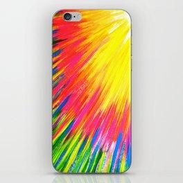 Lightning rays iPhone Skin