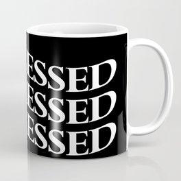 Waved Depression Coffee Mug