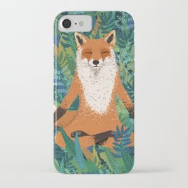 Fox Yoga iPhone Case
