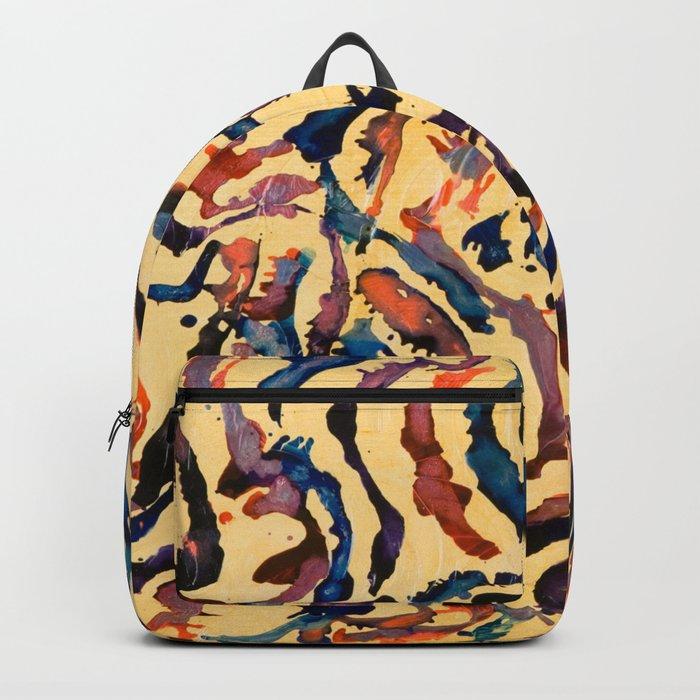 Tribal Waves Backpack