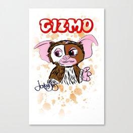 GIZMO - GREMLINS ILLUSTRATION  Canvas Print