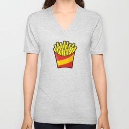 French Fries Unisex V-Neck