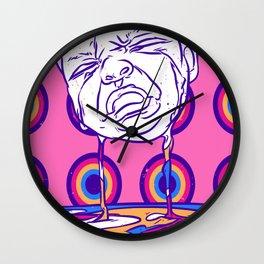 Crying baby Wall Clock