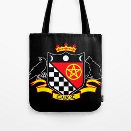 Cabot Crest Color/Black Tote Bag