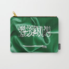 Saudi Arabia Flag Carry-All Pouch