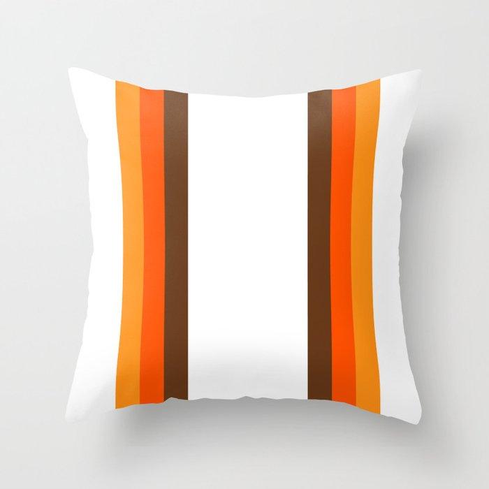 Harvest Rainbow - Straight Throw Pillow