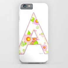 A is for Aster iPhone 6s Slim Case