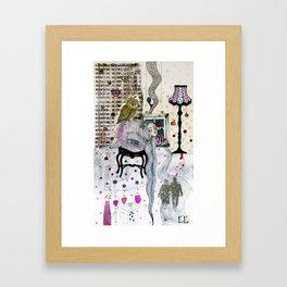 """""""Owl""""  Illustrated print Framed Art Print"""
