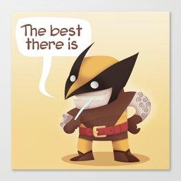 Little Wolverine Canvas Print