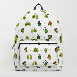 Avocado Pattern - holy guacamole collection Backpack