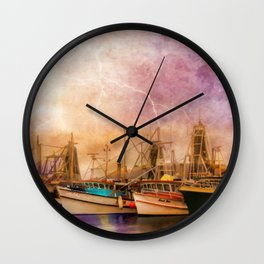 Any Port In A Storm Wall Clock