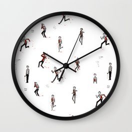 Stripes pattern! Wall Clock