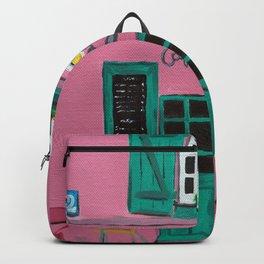 Cafe Maison Rose Backpack