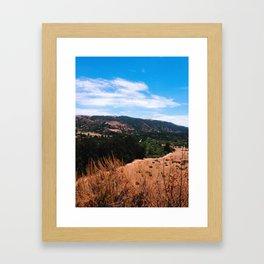 Garland Ranch Framed Art Print