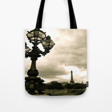 A Night In Paris Tote Bag