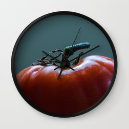 Heirloom Tomato Square Format Wall Clock