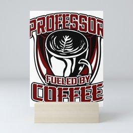Professor Mentor College Coffee Prof Maestro Gift Mini Art Print