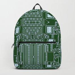 Computer Geek Circuit Board Pattern Backpack