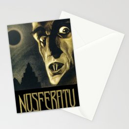 Nosferatu, Vintage Horror Movie Poster Stationery Cards