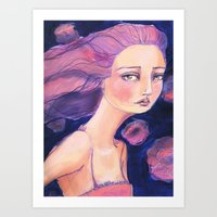 jane davenport Art Prints featuring Move on by Jane Davenport by Jane Davenport
