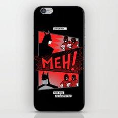 Batmeh iPhone & iPod Skin