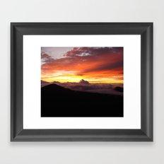 Sunrise - Maui Framed Art Print