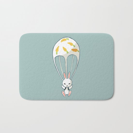 Parachute Bunny Bath Mat