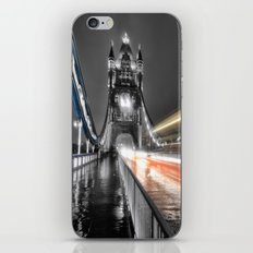 Tower Bridge at night iPhone Skin
