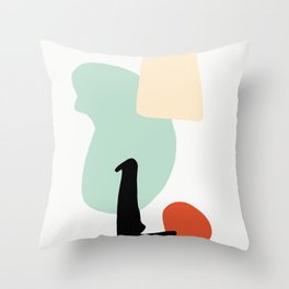 Matisse Shapes 4 Throw Pillow