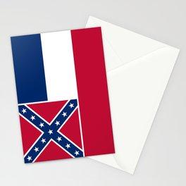 Mississippi State Flag, HQ image Stationery Cards