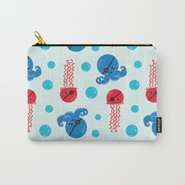 Pirate Octopus, Pirate Jellyfish, Sea Animals Carry-All Pouch