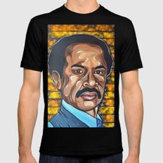 George Jefferson Mens Fitted Tee LARGE Black