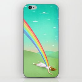 Can you support your dreams? iPhone Skin