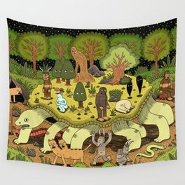 Giant Tortoise Wall Tapestry