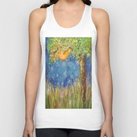 fireflies Tank Tops featuring Fireflies by Debydear