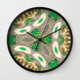 Mix of Mutated Patterns Var. 1 Wall Clock
