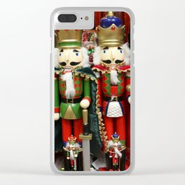 Nutcracker Soldiers Clear iPhone Case