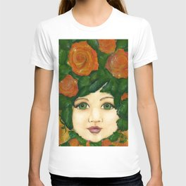 Rosie Green Vintage Victorian Girl Child T-shirt
