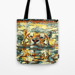 AnimalArt_Tiger_20170601_by_JAMColorsSpecial Tote Bag