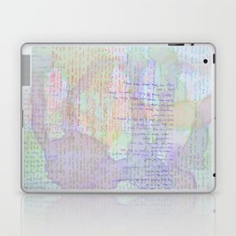 Words and Water Paint Laptop & iPad Skin