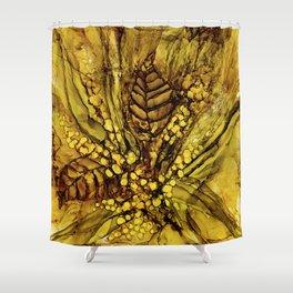 October stroll Shower Curtain